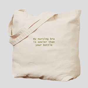 My Nursing Bra is Sexier Tote Bag