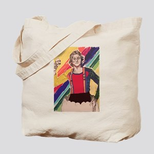 Robin Williams The Colorful One Tote Bag