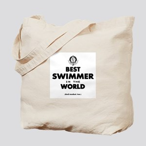 The Best in the World – Swimmer Tote Bag