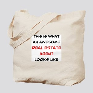 awesome real estate agent Tote Bag