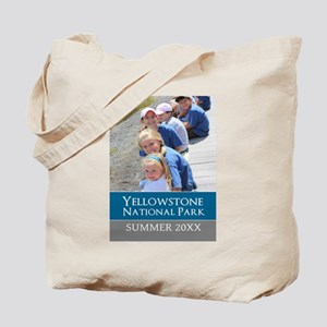 Vacation Souvenir Photo Tote Bag