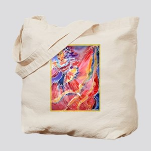 Mexican Dancer, bright, Tote Bag