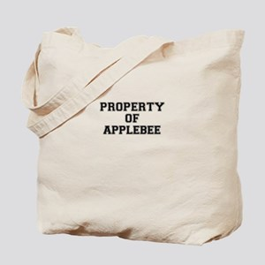 Property of APPLEBEE Tote Bag