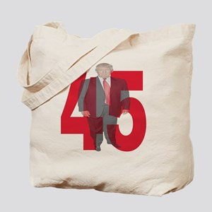 TRUMP 45th PRESIDENT Tote Bag