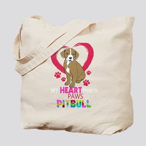 Pitbull Gift Pit Bull Terrier Heart In Th Tote Bag