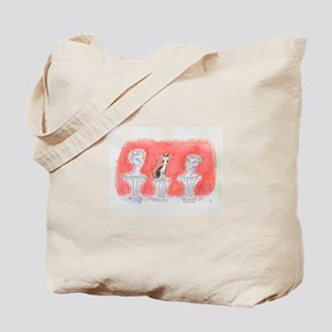 CAT STATUARY Tote Bag