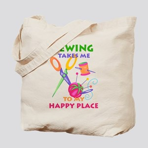 Sewing Takes Me Tote Bag