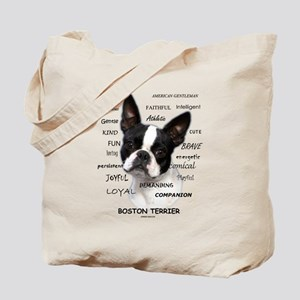 A Boston Terrier is: Tote Bag