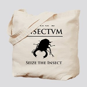 Carpe Insectum D black 3 Tote Bag