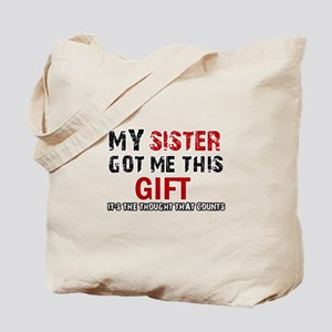 Cool Sister Designs Tote Bag