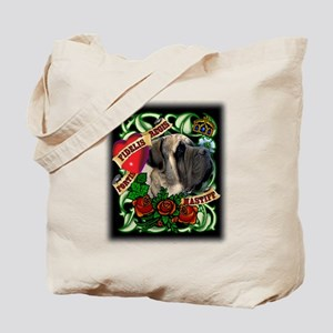 Tattoo Mastiff Tote Bag