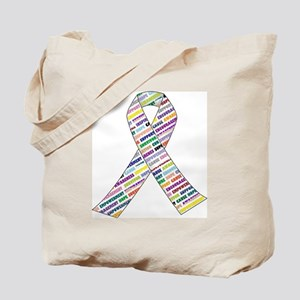 all cancer rep ribbon 2 Tote Bag