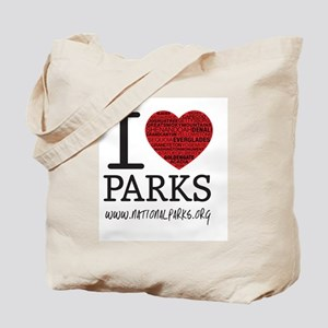 I Heart Parks Tote Bag