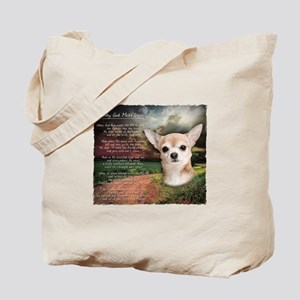 """Why God Made Dogs"" Chihuahua Tote Bag"