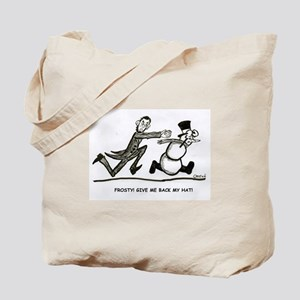Abe and Frosty Tote Bag