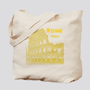 Rome_10x10_v1_Yellow_Colosseum Tote Bag