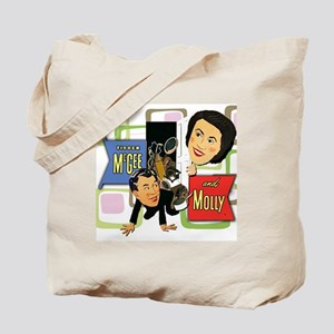 Fibber McGee And Molly Tote Bag