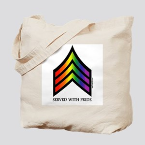 Served With Pride Tote Bag