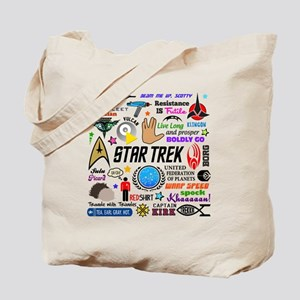 Trekkie Memories Tote Bag