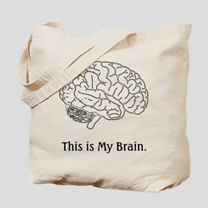 This is my Brain...Law School Tote Bag