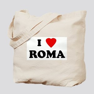 I Love ROMA Tote Bag