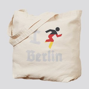 I-Run-Berlin-1 Tote Bag