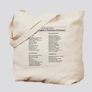 Boston-English Dictionary Tote Bag