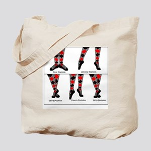 Dance Positions Tote Bag