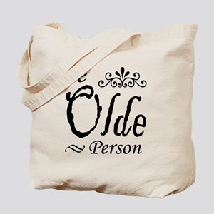 'Ye Olde Person' Tote Bag