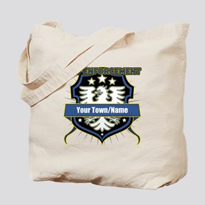 Law Enforcement Eagle Heraldry Tote Bag