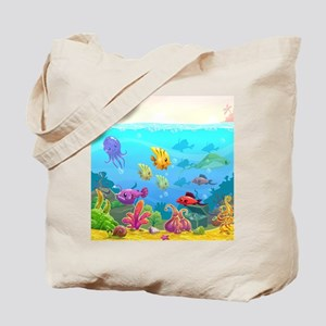 Cute Fish Tote Bag