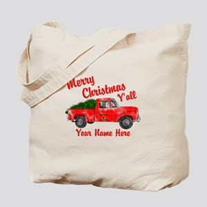 Merry Christmas Yall Tote Bag