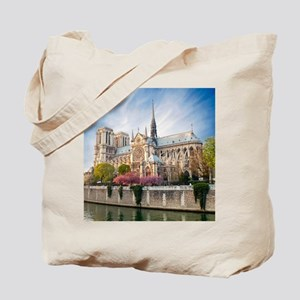 Notre Dame Cathedral Tote Bag