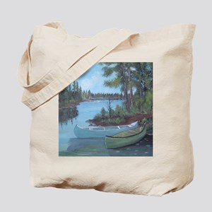 Canoe shower curtain Tote Bag
