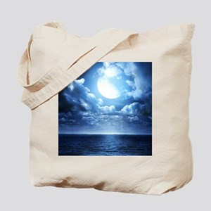 Night Ocean Tote Bag