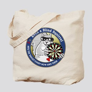 Darts Blind Squirrel Tote Bag