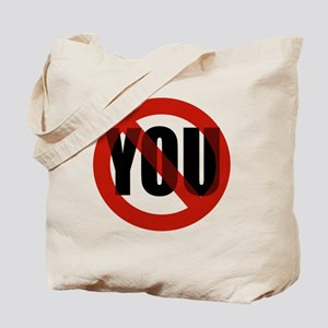 Antisocial - No You Tote Bag