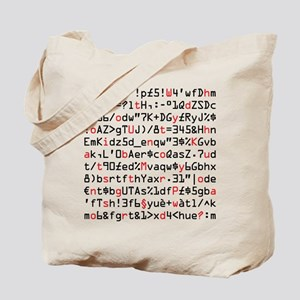 Geek Strong Password. Tote Bag