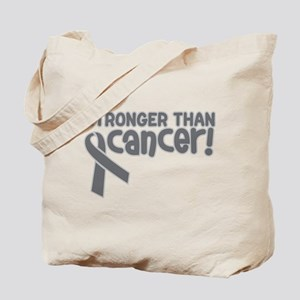 STRONGER THAN CANCER (Brain) Tote Bag