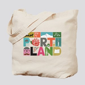 Unique Portland - Block by Block Tote Bag