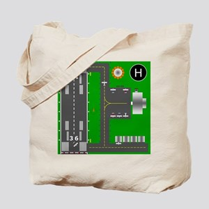 Airport Diagram Tote Bag