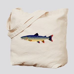 Dolly Varden Trout Tote Bag