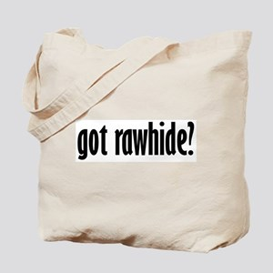 Double-sided Rawhide Tote Bag