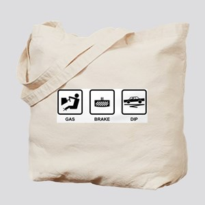 Gas Brake Dip Tote Bag