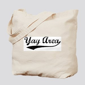 Vintage Yay Area Tote Bag