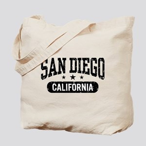 San Diego California Tote Bag