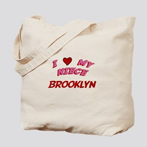I Love My Niece Brooklyn Tote Bag