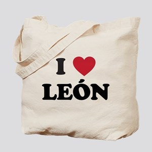 I Love Leon Tote Bag