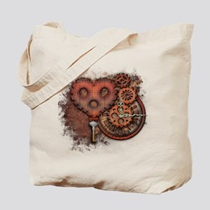 Key of Time and Love Tote Bag