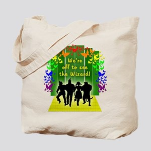 Off to see the Wizard of Oz Tote Bag